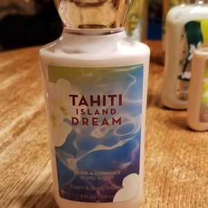 Bath and Body Works Lotion Tahiti Island Dream
